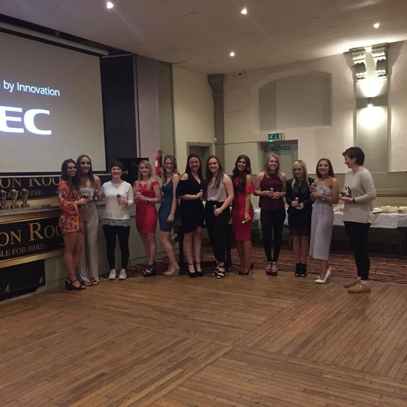 Worksop Town Ladies Presentation night
