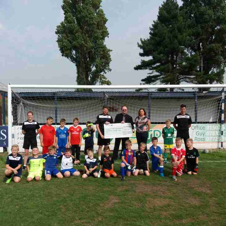 Lowestoft Town Sports Academy CIC receive Locality Budget Funding