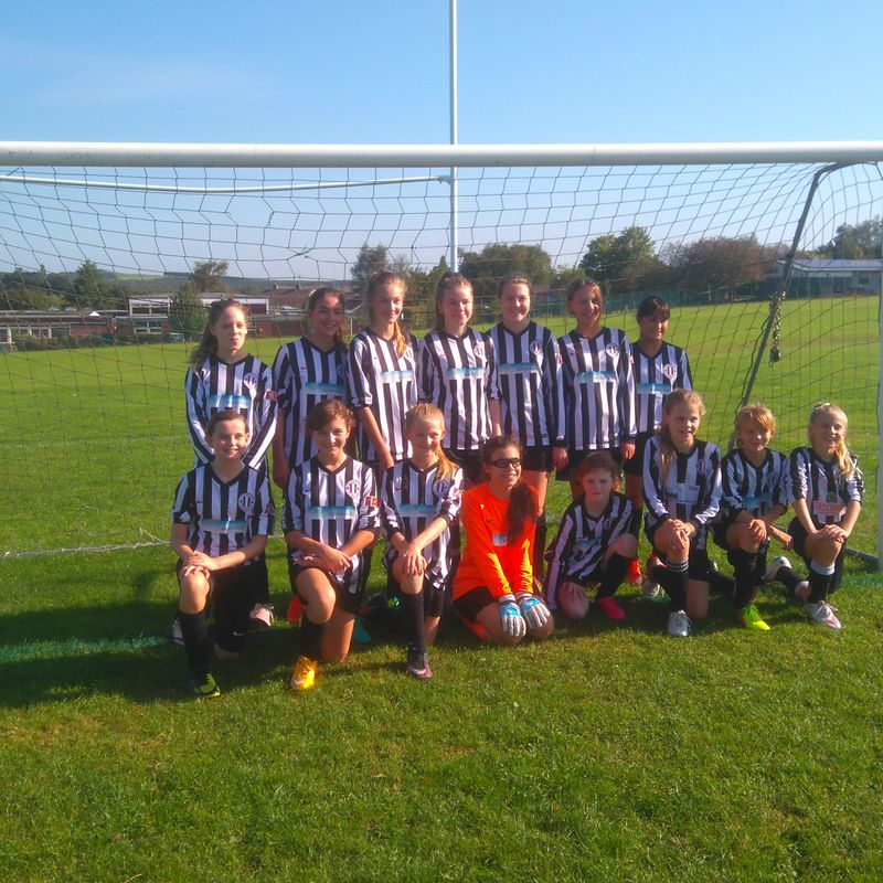 Under 12 Girls beat West Bridgford Colts FC Dragons U12 0 - 4