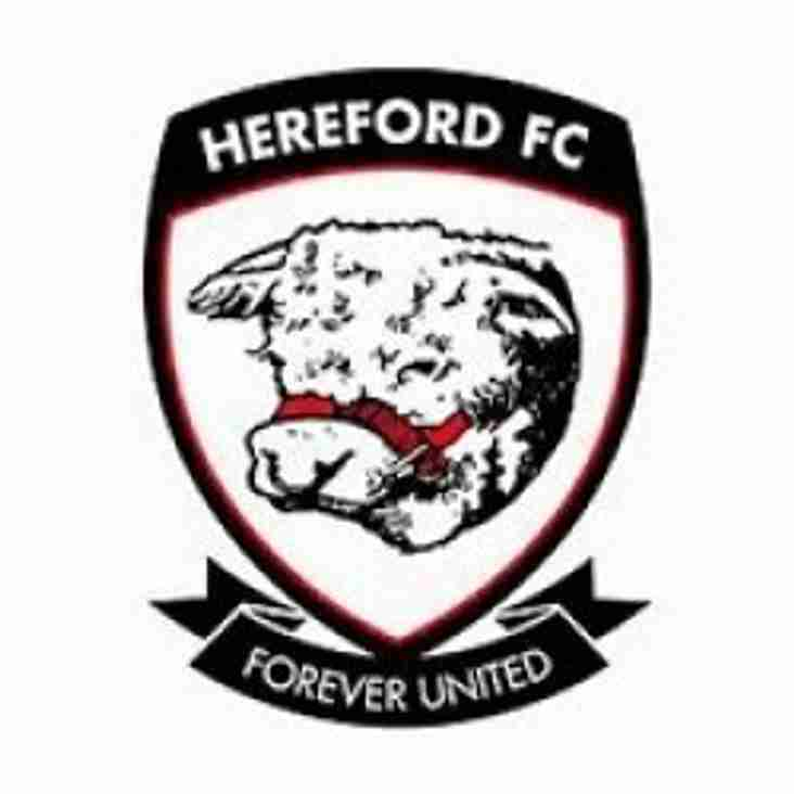 The Newcomers - Cameo 6. Hereford FC