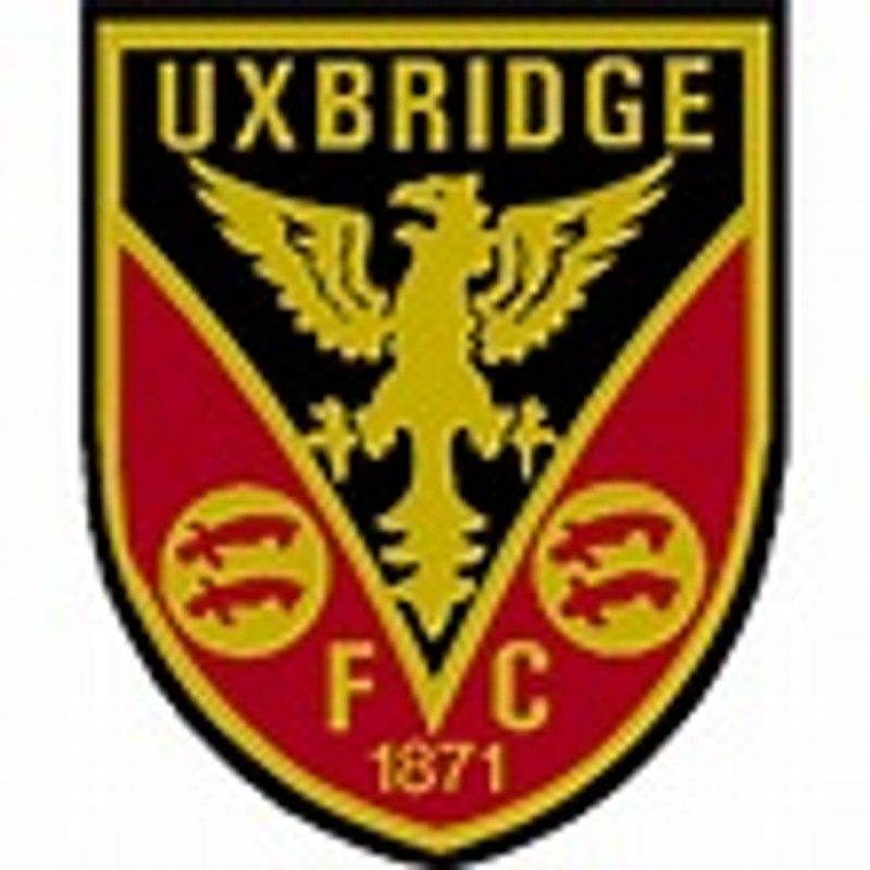 Uxbridge (away) - tomorrow's pre-season warm-up