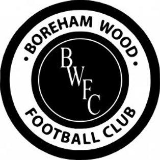 Match Report - Boreham Wood  (Home - Pre season)