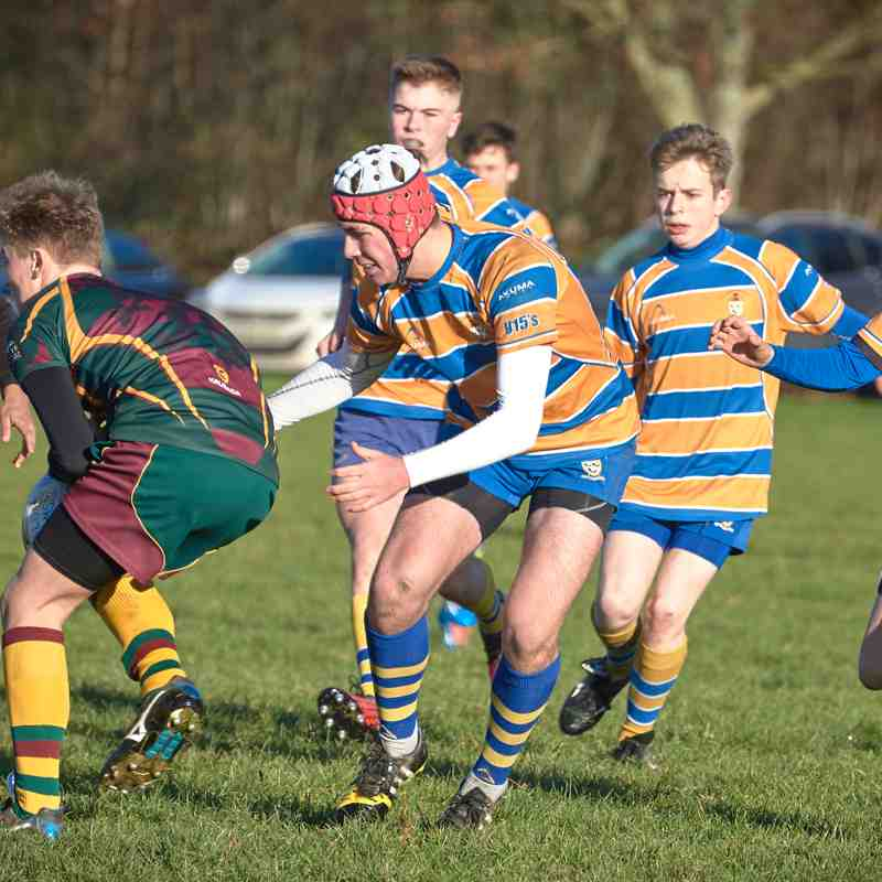 U15s v Old Laurentians 4th December 2016