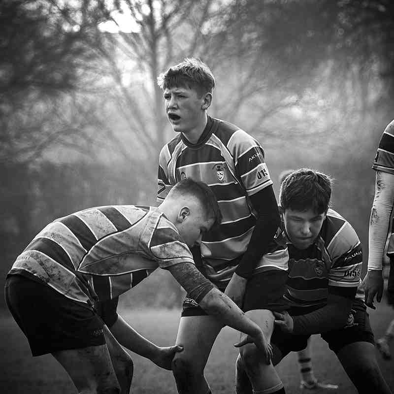 U15s v Hinkley 8th Jan 2017
