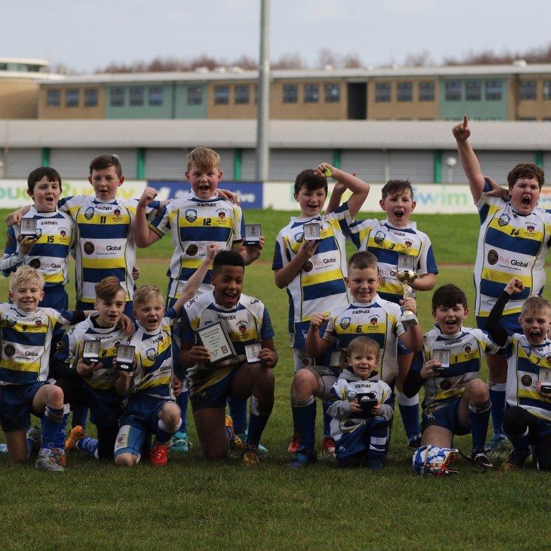 Under 12's beat Hull Victoria 0 - 48