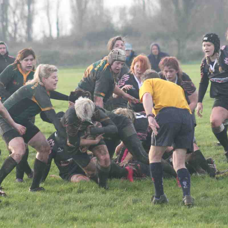 Harwich & Dovercourt Owls v Bury St Edmunds Ladies - 24th January 2016