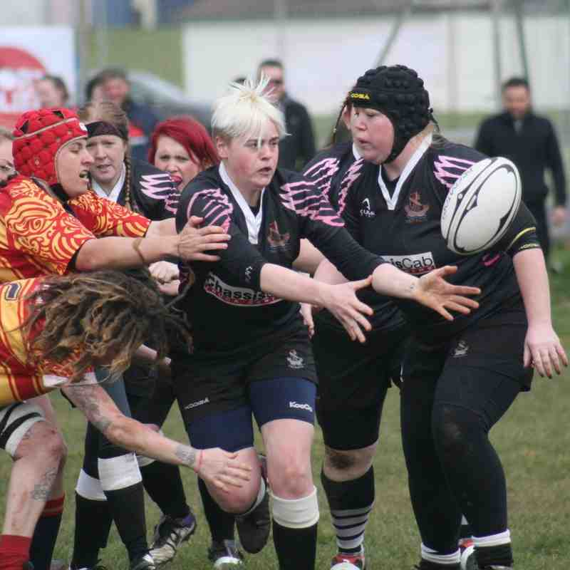 Harwich & Dovercourt Owls v Medway Ladies - 20th March 2016