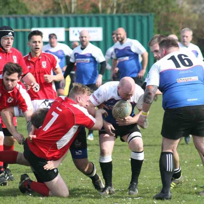2nd XV v Halstead Templars - 2nd April 2016
