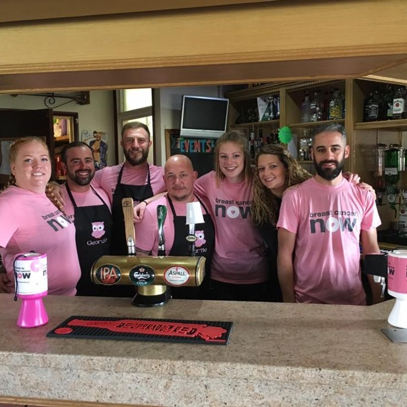H&D Raises over £1400 for Breast Cancer Now