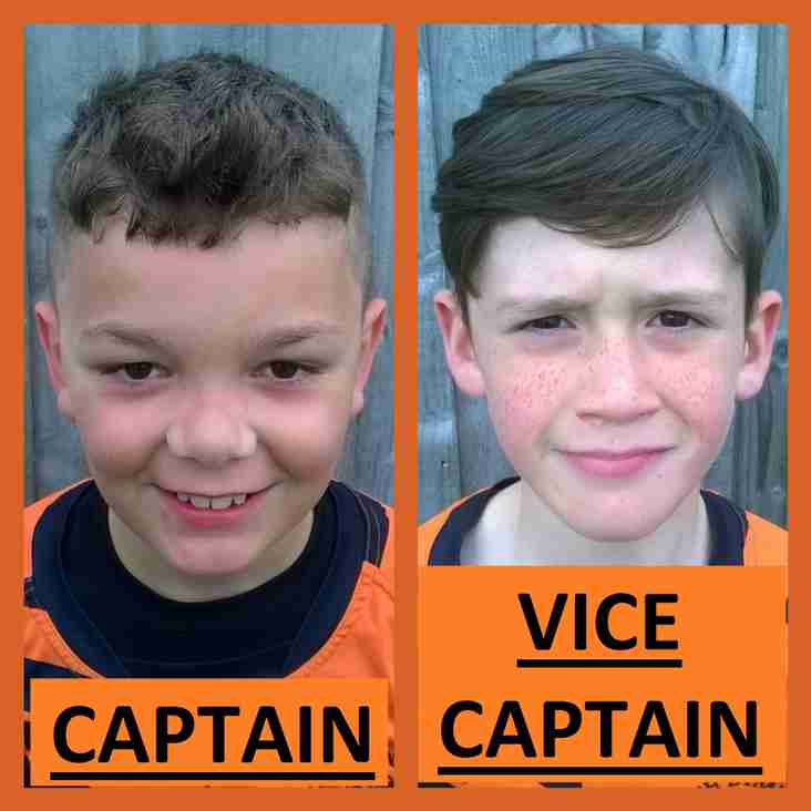Roach White U11 Captain Decided