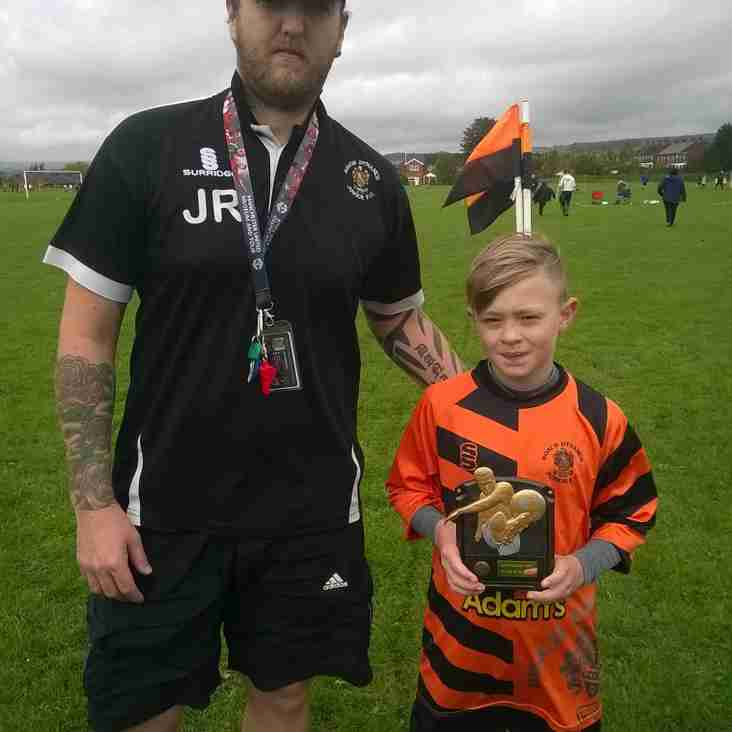 Roach White U11's Player Of The Month