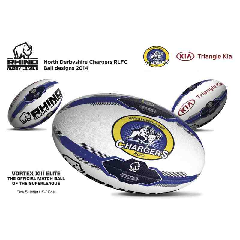 Rhino Rugby Match Ball (Size 5)