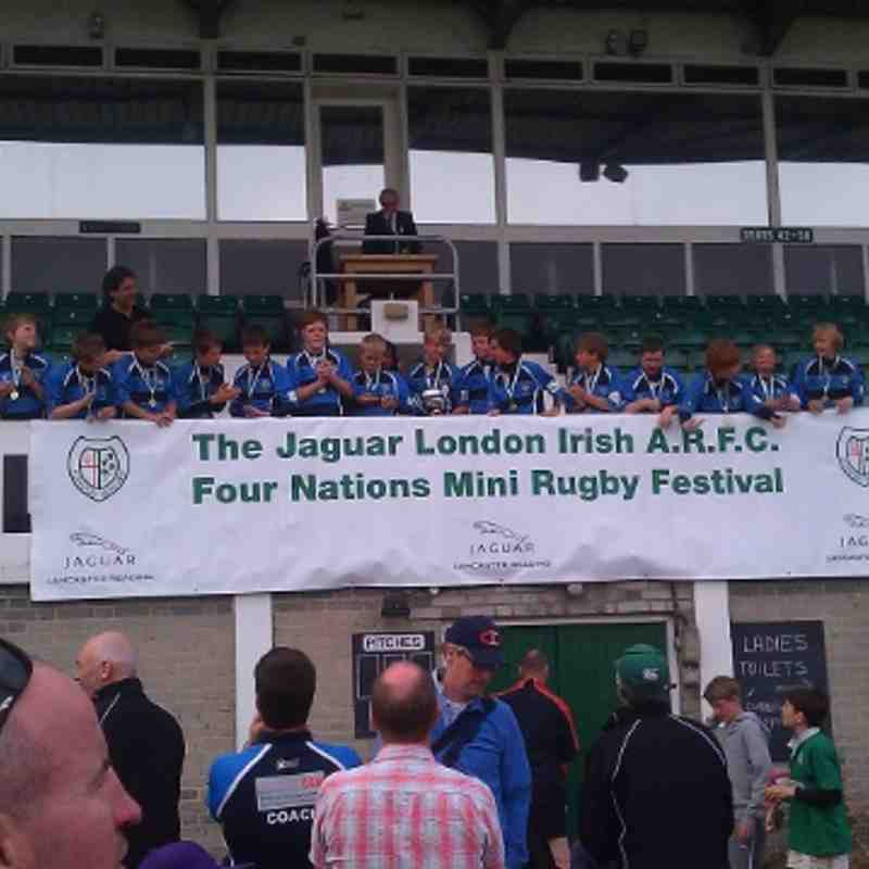 u12 London Irish 4 Nations Champions 2010/11