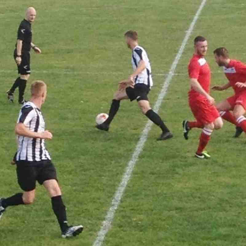1ST TEAM v Llanfair United - Sat  8 Oct 2016