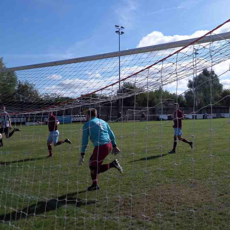 1ST TEAM v Holyhead Hotspur - Sat 17 Sep 2016