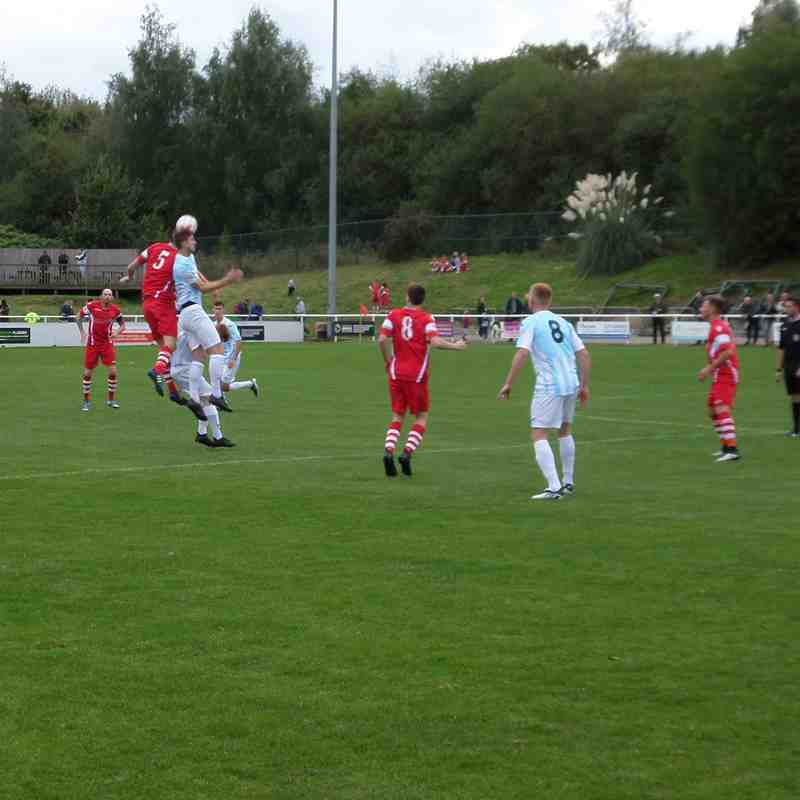 1ST TEAM v Buckley Town - Sat 24 Sep 2016