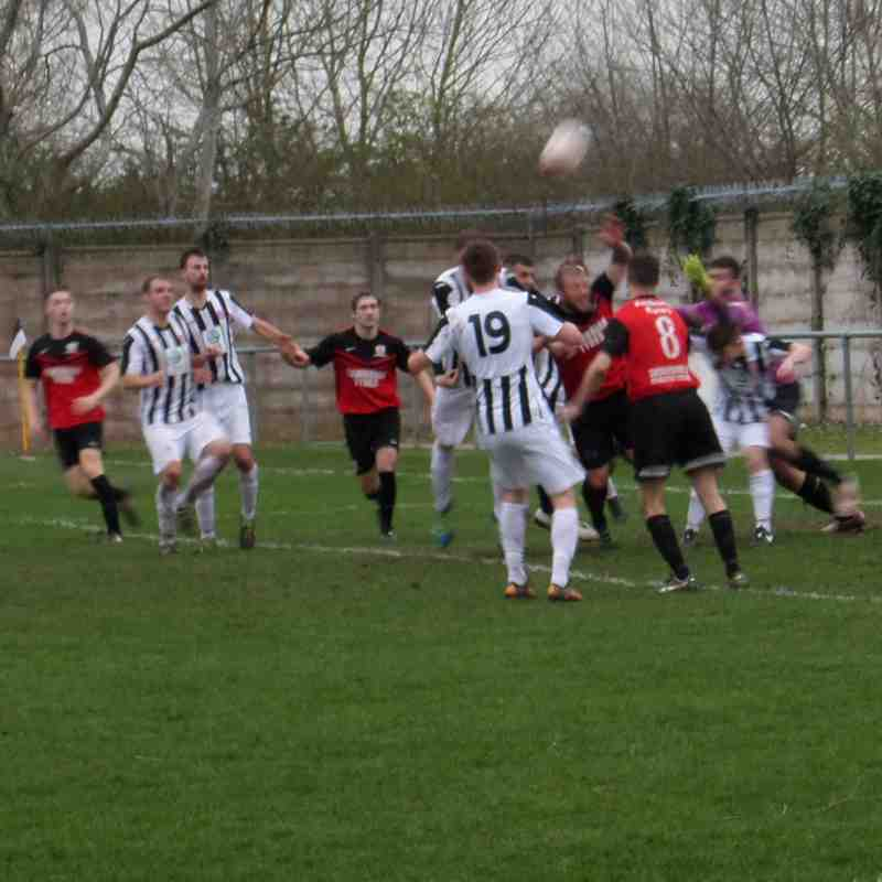Flint v Penrhyncoch, Sat 11th March 2017