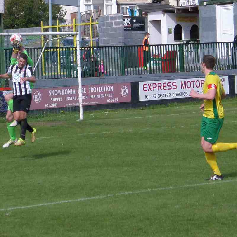Caernarfon v Flint, Sat 15th April 2017