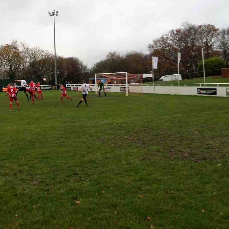 Buckley (A) - Welsh Cup, 2nd Dec 2017