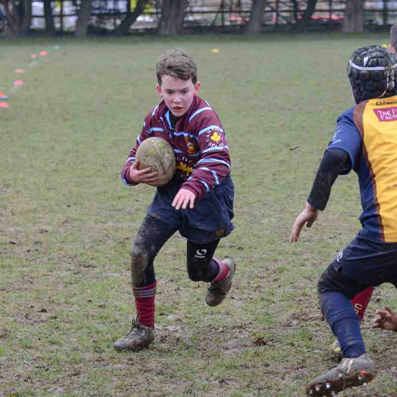 CRFC U12's @ Worthing RFC - February 12th 2017