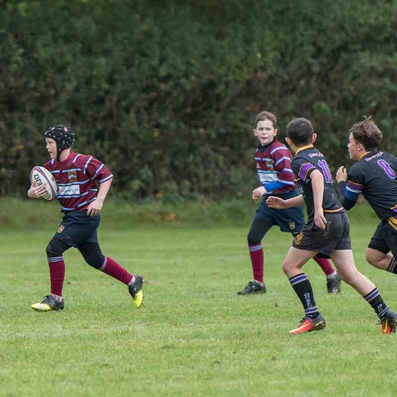 Crawley RFC U13's vs Old Caterhamians RFC U13's 1/10/2017