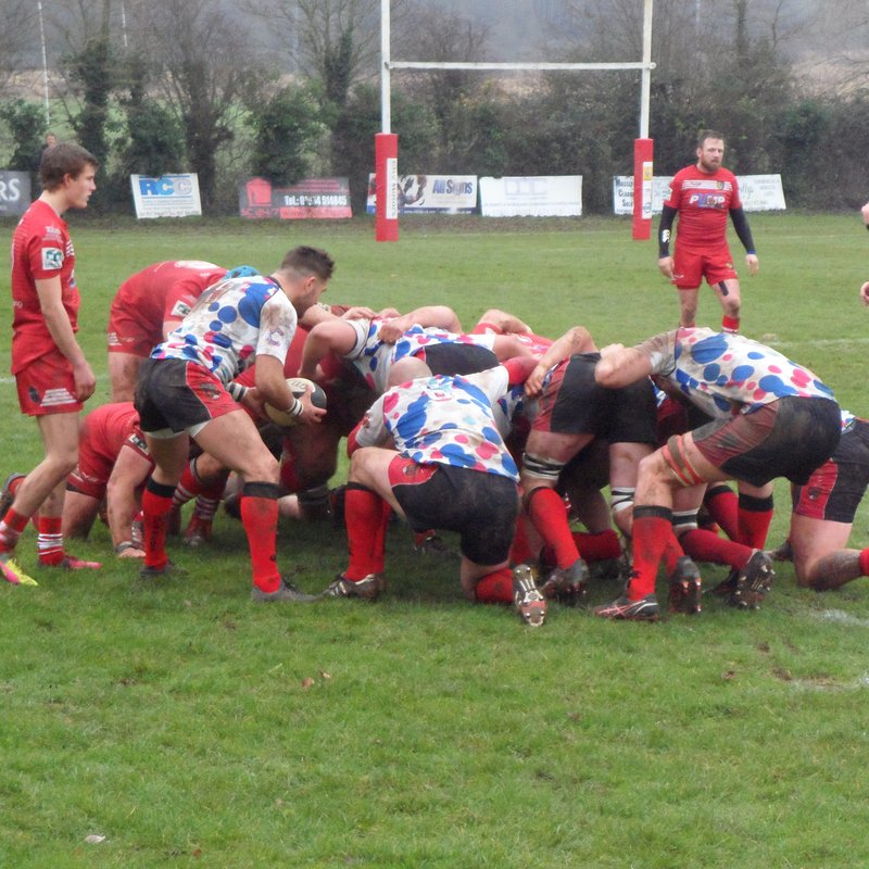 Reds end year with a win over Brixham