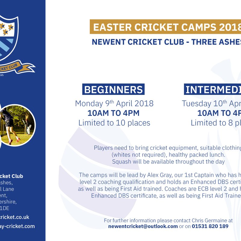 Easter Camps at Newent CC