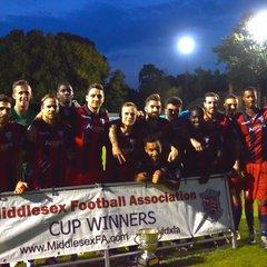 Middlesex Senior Cup Final 2016/17: Hampton vs Wealdstone