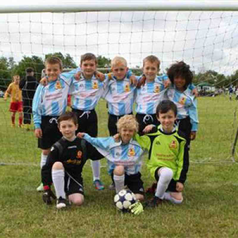 u9 Puritans @ MJFC Tournament