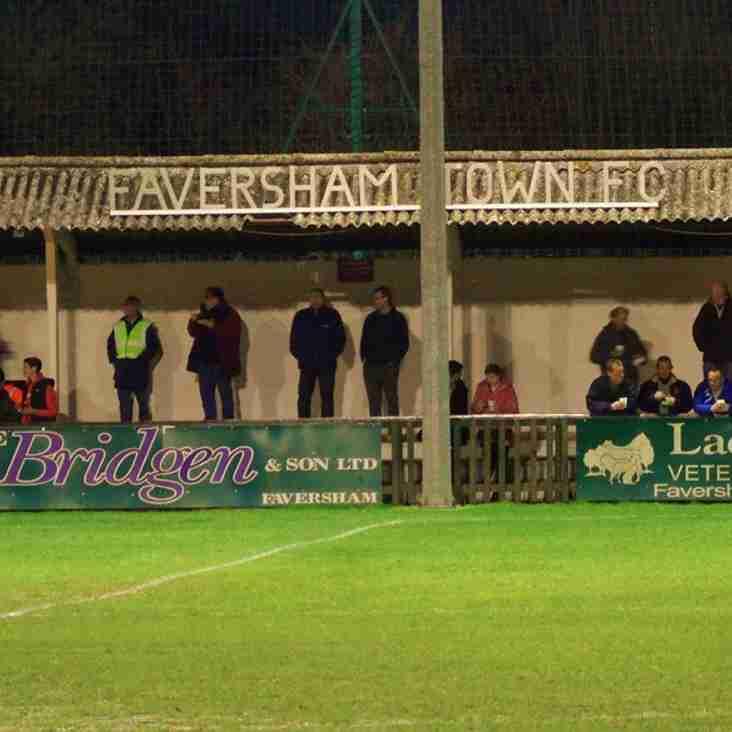 16 Feb: Faversham U21s 2 Rams U21s 0