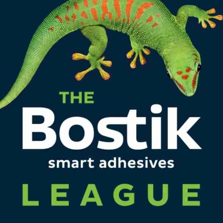 12 Jul: Bostik Fixtures Out