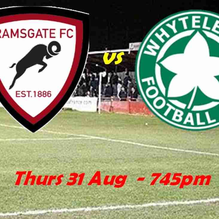 31 Aug: Under 23s 3 -  Whyteleafe 2