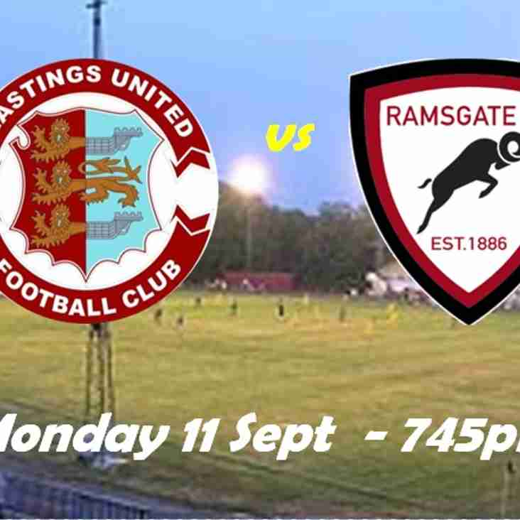 11 Sep: Hastings 2 Under 23s 0