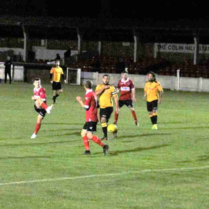 12 Oct: Under 23s 8 Cray Wanderers 2