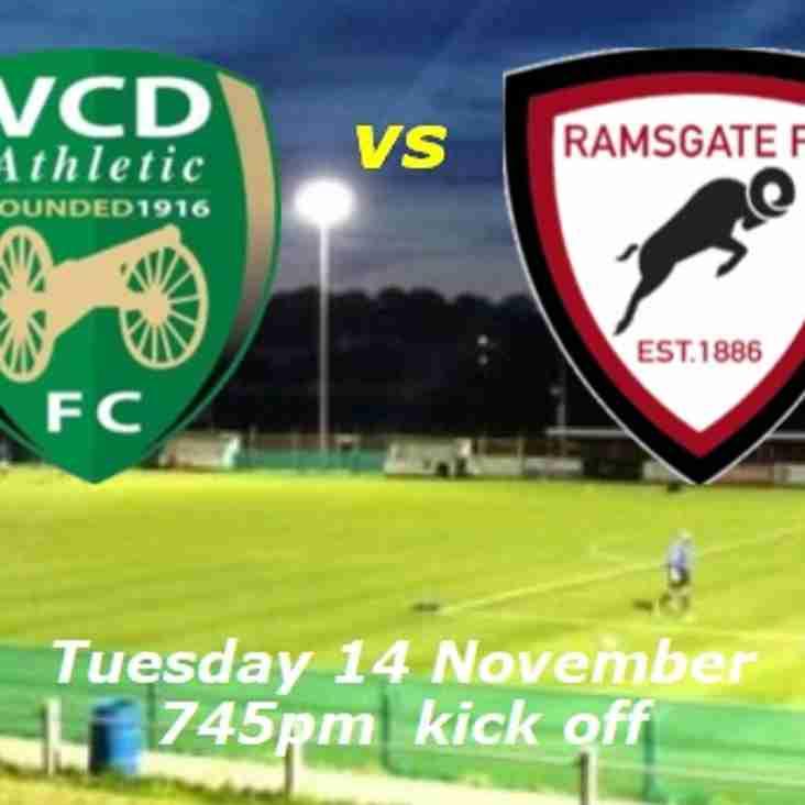 14 Nov: VCD 3 Rams 1