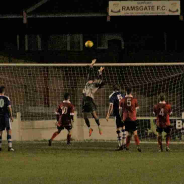 7 Dec: Under 23s 1 Margate 2