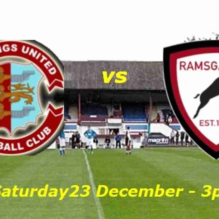 23 Dec: Hastings 4 Rams 2