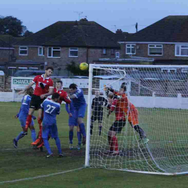 6 Jan: Rams 3 Shoreham 3