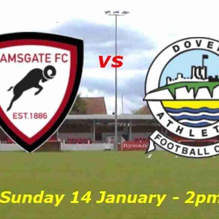 14 Jan: U16s 0 Dover 2