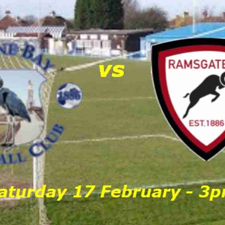 17 Feb: Herne Bay 3 Rams 1