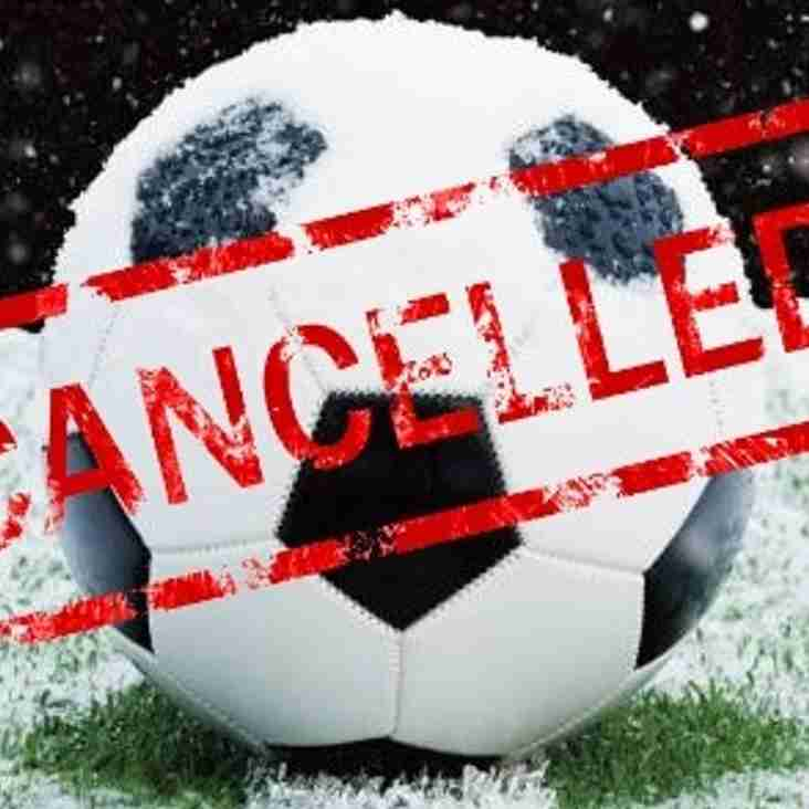17 Mar: Rams' Games Off