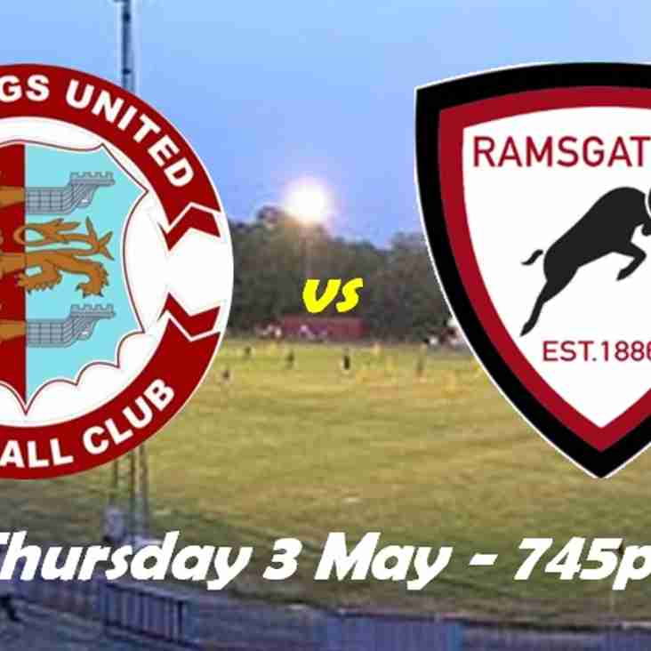 3 May: Hastings 4 Rams 1