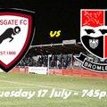 17 Jul: Rams 2 Bromley XI 0
