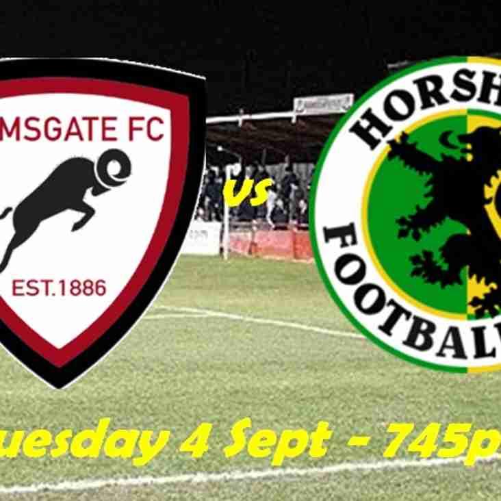 4 Sep: U23s 5 Horsham 1