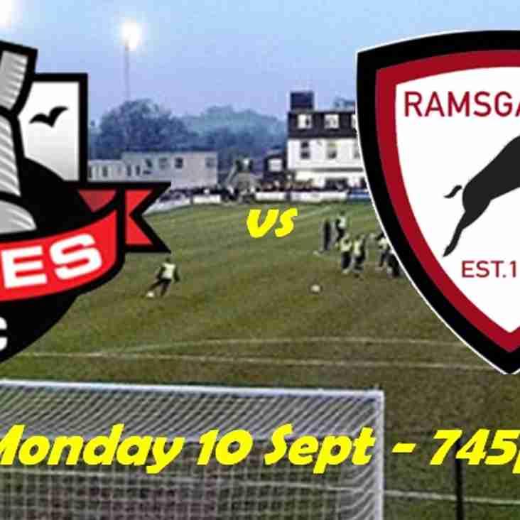 10 Sep: Lewes 5 Rams U23s 4