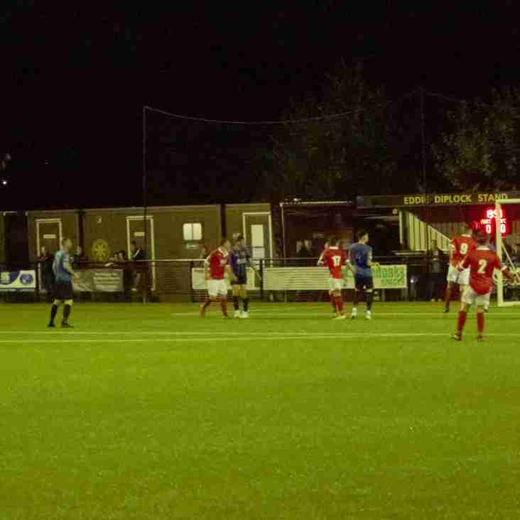 11 Sep:  Sevenoaks 1 Rams 3 - FA Cup Replay