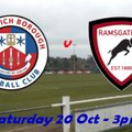 20 Oct Greenwich 1-2 Rams