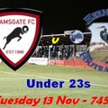 13 Nov: U23s 2-1 Herne Bay