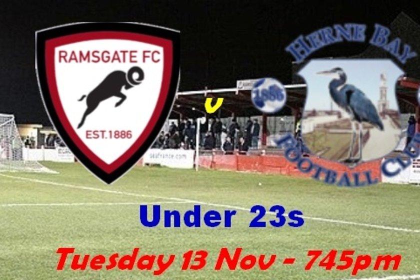 13 Nov: U23s v Herne Bay