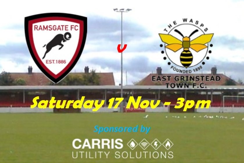 17 Nov: Ramsgate v East Grinstead Town